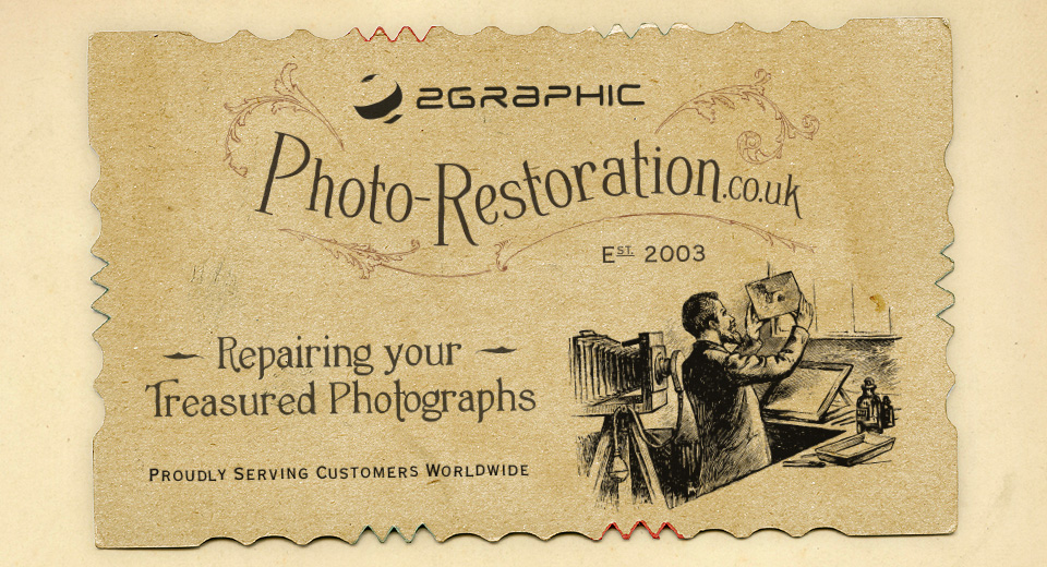 2graphic Photo Restoration services