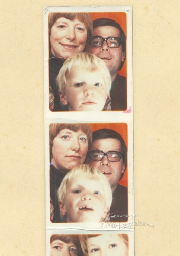 passport photo strip